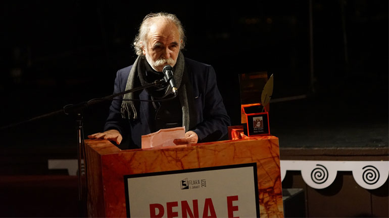 "Prend Buzhala – fitues i Çmimit ""Pena e Flakës 2021"""