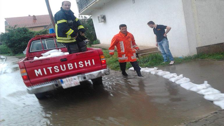 Vërshime edhe në Viti