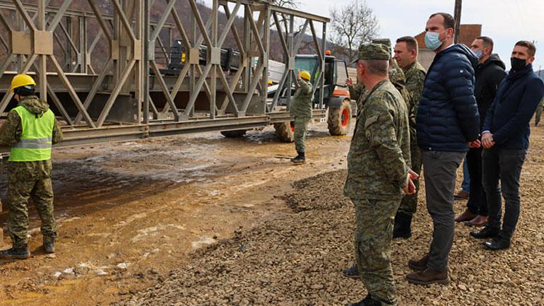 Është duke u bërë një punë e mrekullueshme nga ana e FSK-së për urën në Hajnoc
