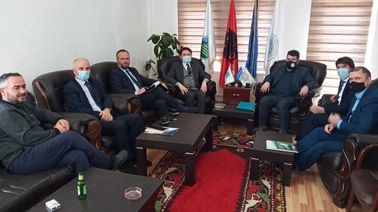 Kryetari i Këshillit të Bashkësisë Islame në Gjilan priti në takim Kryeimamin e Bashkësisë Islame të Kosovës mr. Vedat ef Sahiti