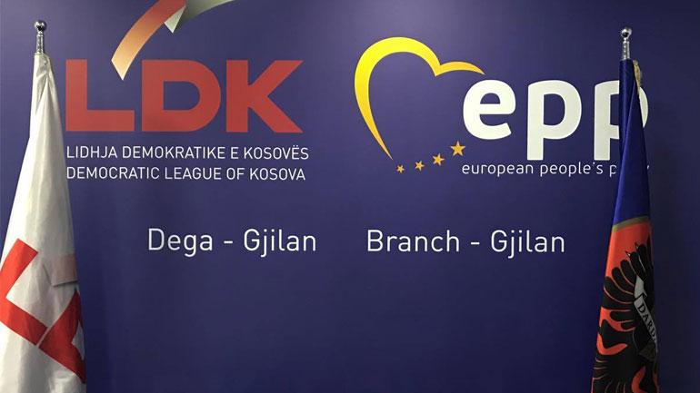 LDK e Gjilanit falënderon votuesit për mbështetjen, hyn në riorganizim të brendshëm