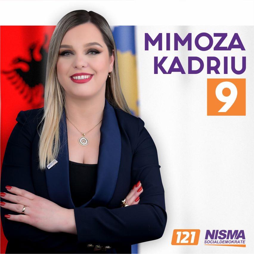 Mimoza Kadriu-9, kandidate për deputete nga Nisma Socialdemokrate-121