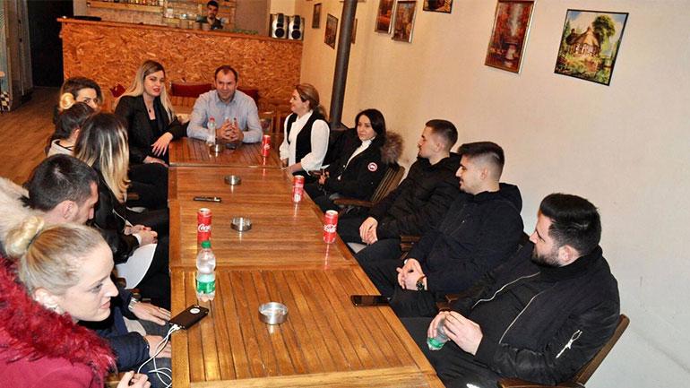 Nisma Socialdemokrate merr mbështetje në Velekincë të Gjilanit