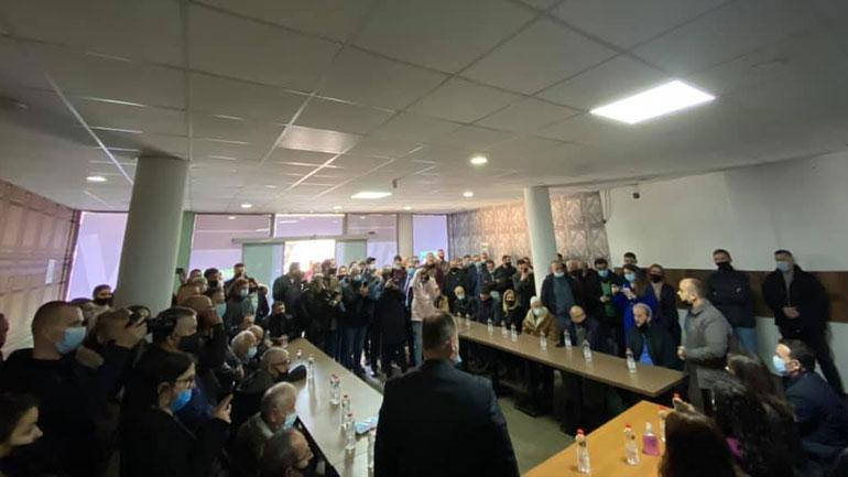 Lista Vjosa Osmani, hapi zyrën e saj në Gjilan