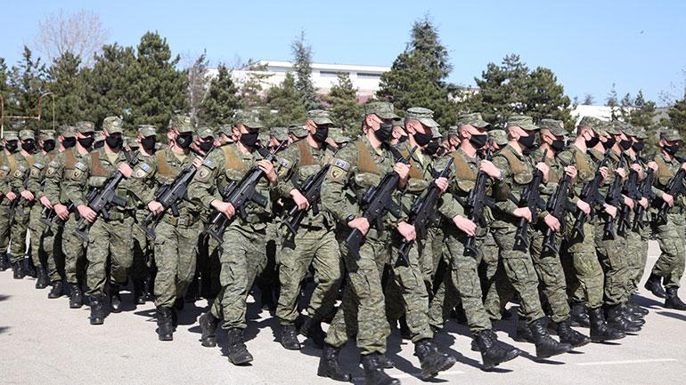 FSK-ja parakaloi në përvjetorin e 23-të të Epopesë së Ushtrisë Çlirimtare të Kosovës