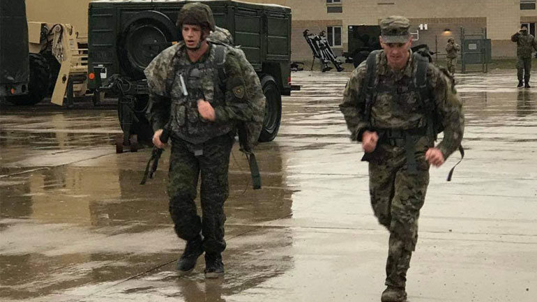 """Pjesëtarët e FSK-së arrijnë rezultate të larta në garën e """"Luftëtarit më të mirë"""" në Ajova të SHBA-së"""