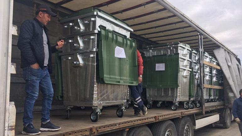 Komuna e Vitisë përfiton edhe 66 kontejnerë metalik