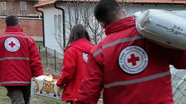 Kryqi i Kuq në Kamenicë u del në ndihmë shumë familjeve në nevojë
