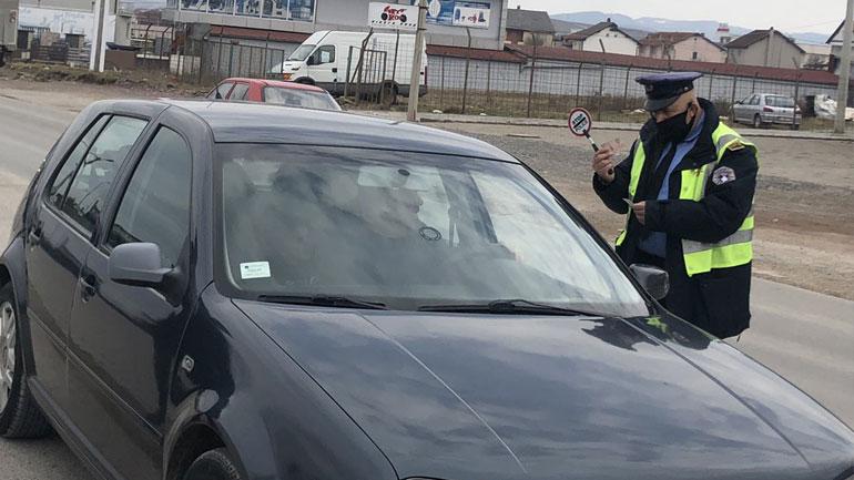 1 mijë e 724 tiketa trafiku të shqiptuara nga policia brenda 24 orëve