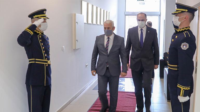 Ministri Sveçla siguroi Policinë se do ta përkrah dhe  do ta mbështesë në të gjitha format e mundshme