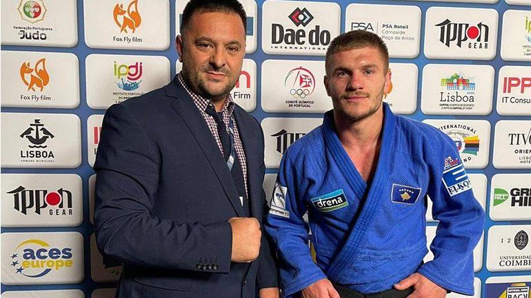 Akil Gjakova i artë në Kampionatin Evropian të Xhudos