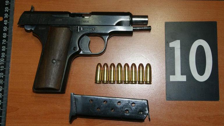Policia e Kosovës ka konfiskuar armë dhe municion në fshatin Pasjan të komunës së  Parteshit (FOTO)