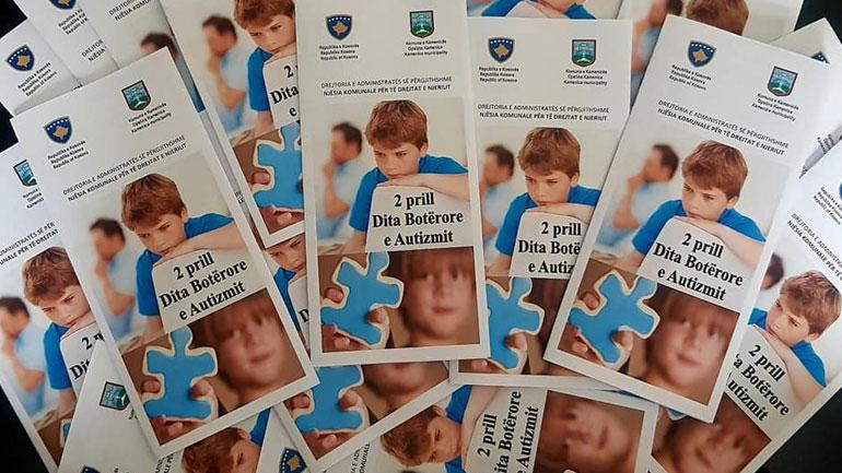 Edhe në Komunën e Kamenicës shënohet Dita Ndërkombëtare e Autizmit