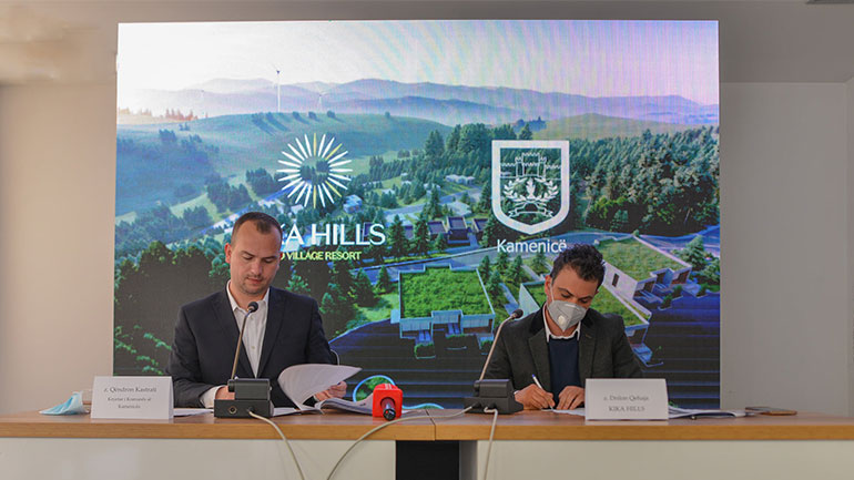 """Nënshkruhet marrëveshja për projektin më të madh turistik me """"KIKA HILLS"""""""