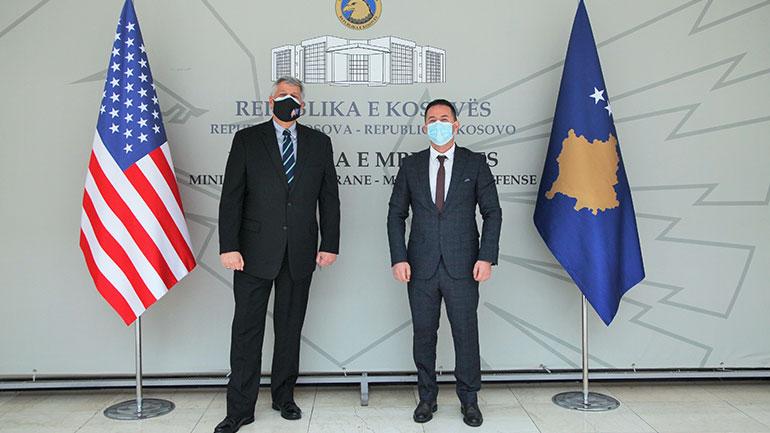 SHBA sikur edhe deri më tash do të vazhdojë partneritetin me Ministrinë e Mbrojtjes dhe FSK-në