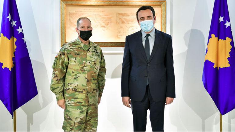 Siguria në vend është qëllim dhe prioritet i përbashkët i institucioneve të Republikës së Kosovë dhe KFOR-it