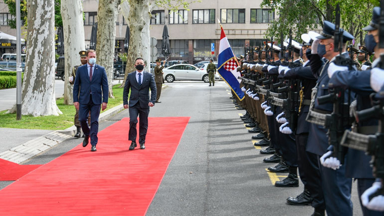 Ministri Mehaj u prit nga homologu i tij kroat, ministri Banožić