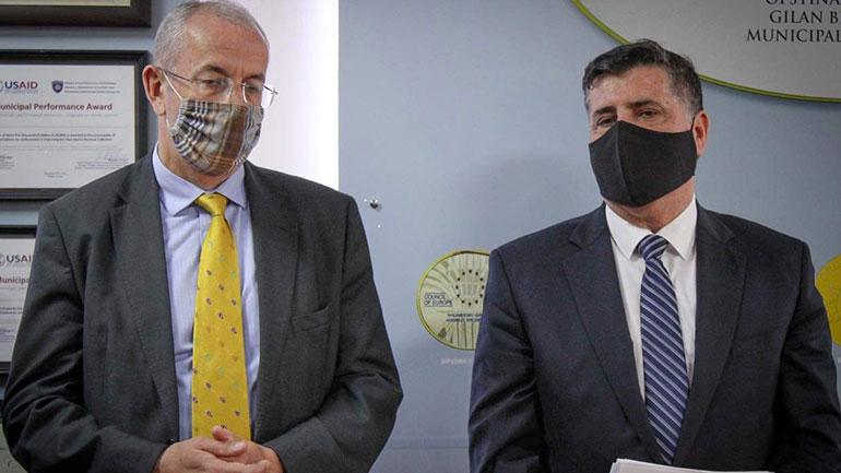 Haziri pret ambasadorin e ri të OSBE'së, konfirmohet vazhdimi i bashkëpunimit të mirë