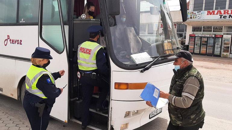 Policia kërkon nga qytetarët t'i respektojnë masat kundër pandemisë, vazhdon t'i gjobis ata që nuk po i respektojnë
