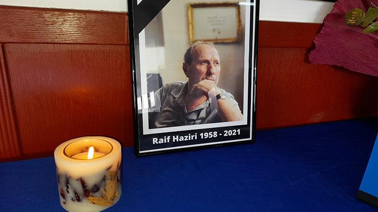 Vlerësohet lartë vepra e organizatorit të Teatrit të Gjilanit, Raif Hazirit