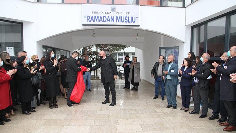 """Biblioteka Publike e Qytetit në Viti emërtohet """"Ramadan Musliu"""""""