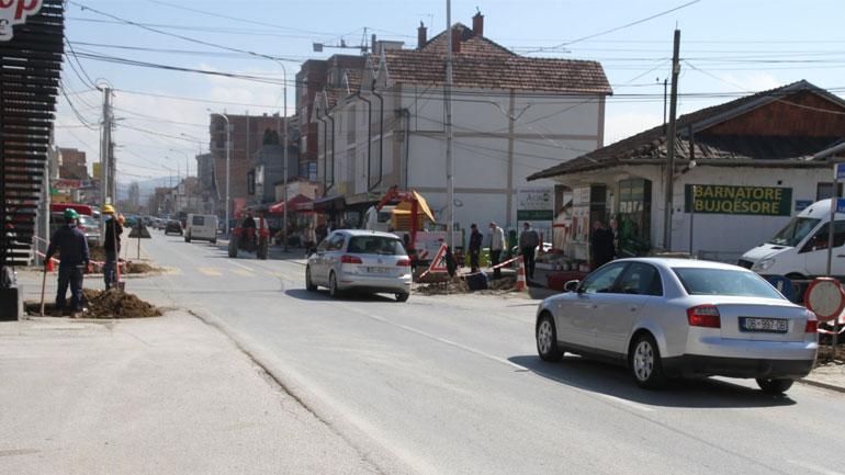 Ka nisur vendosja e semaforëve në udhëkryqin Viti-Pozheran