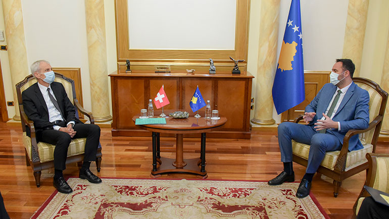 Konjufca: Zvicra është një vend mik dhe partner strategjik i Kosovës