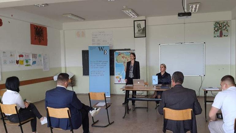 Gjilani mban sesionin e parë informues të granteve për Gratë Ndërmarrëse në Energji