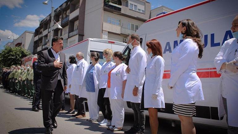Kryetari Haziri: Për herë të parë pas 14 muajve nuk e kemi asnjë pacient me COVID-19 në Mjekim Intensiv