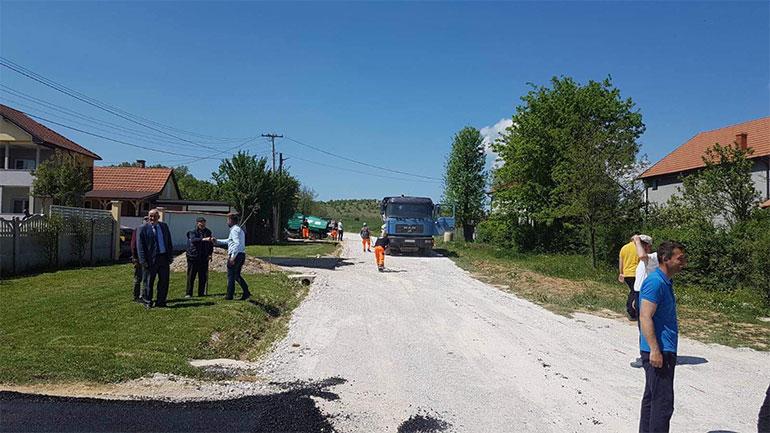 Në komunën e Vitisë po realizohen disa projekte infrastrukturore