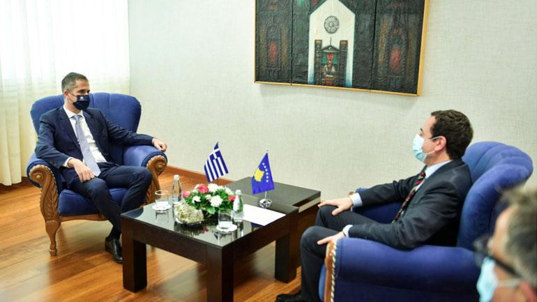 Kryetari i Athinës përsëriti mbështetjen e Greqisë në procesin e liberalizimit të vizave për Kosovën