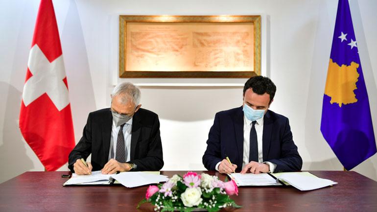 Nënshkruajnë memorandum bashkëpunimi për menaxhimin e ujërave