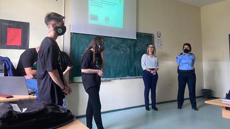Policia e Kosovës: Ligjërata kundër dukurive negative për nxënësit e shkollave të mesme