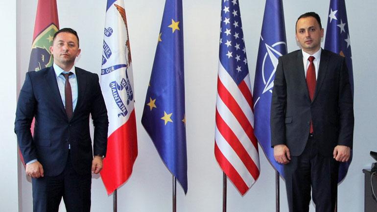 Ministri Mehaj priti në takim drejtorin e AKI-së, Petrit Ajetin