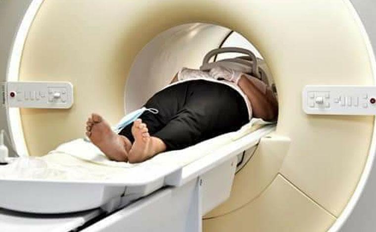 Radiologjia për herë të parë kryen MRI të kurrizit