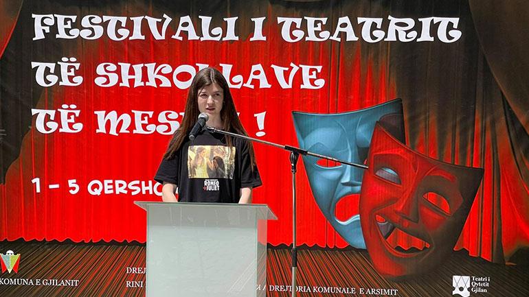 Gjilani nis Festivalin e teatrit të shkollave të mesme