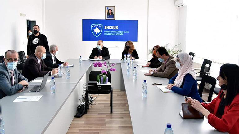 Anëtarët e Komisionit për Shëndetësi dhe Mirëqenie Sociale vizituan ShSKUK-në