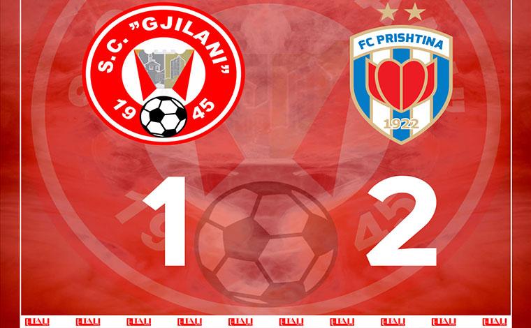 Prishtina mposhtë Gjilanin, siguron titullin e kampionit një xhiro para përfundimit të kampionatit