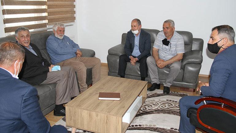 Viti: Zëvëndëskryetari Aliu priti në takim përfaqësues të SBASHK-ut