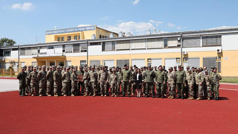 """FSK pjesë e ushtrimit """"Adriatic Thunder Cyber Exercise 2021"""" në Kroaci"""