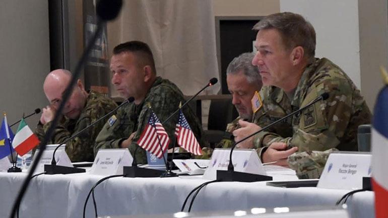 Gjeneral Rama mori pjesë në Konferencën e Ushtrive Evropiane