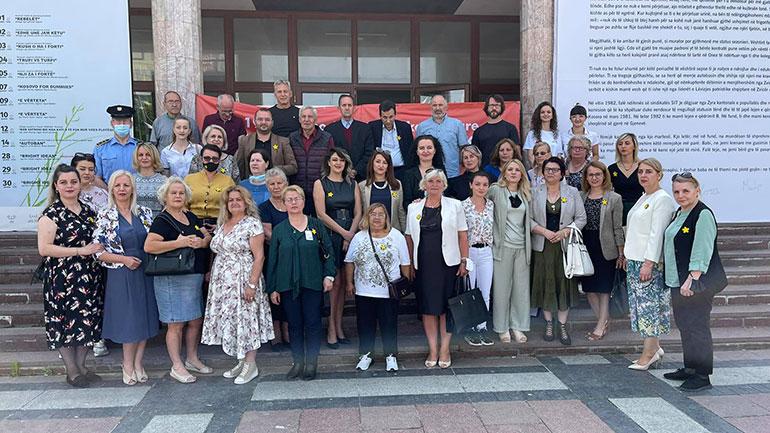 Gjilani shënon Ditën Ndërkombëtare për Eliminimin e Dhunës Seksuale në Konflikt