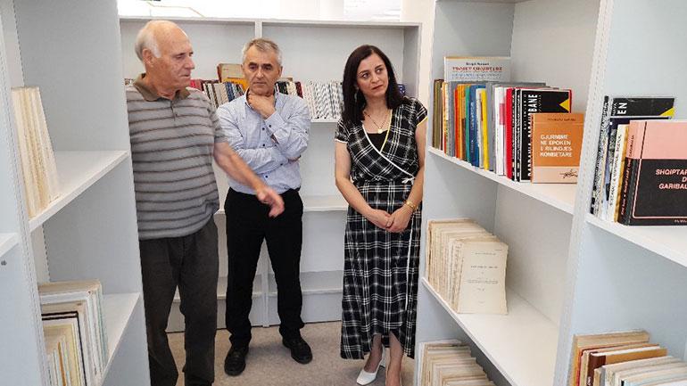 "Në bibliotekën ""Fan S.Noli"", Inaugurohet biblioteka personale e akademik Idriz Ajetit"