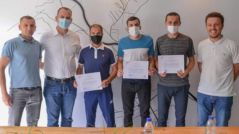 """Letër falënderim për Klubin e Atletikës """"Rogana"""", si dhe atletët Musa Hajdari dhe Astrit Kryeziu"""