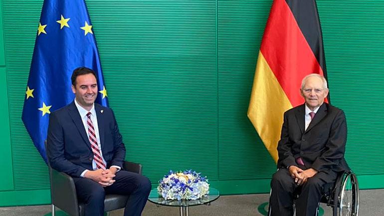 Kryekuvendari Konjufca: Bundestagu dhe institucionet gjermane qëndrojnë̈ fuqishëm me Kosovën