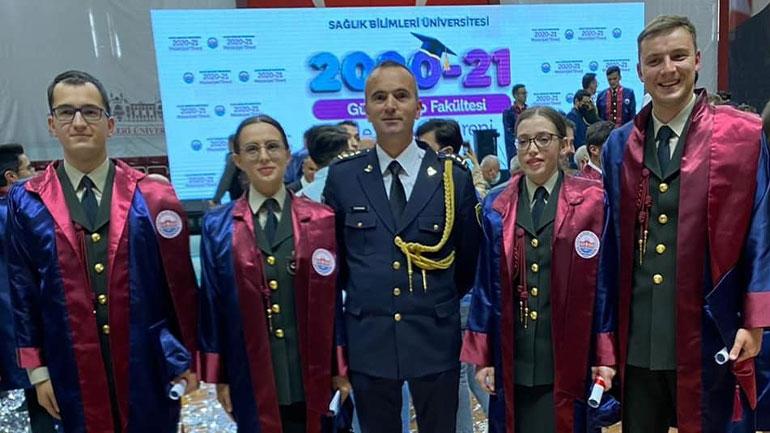 Diplomuan mjekët e parë të FSK-së në Universitetin e Shkencave Mjekësore Gülhan në Turqi