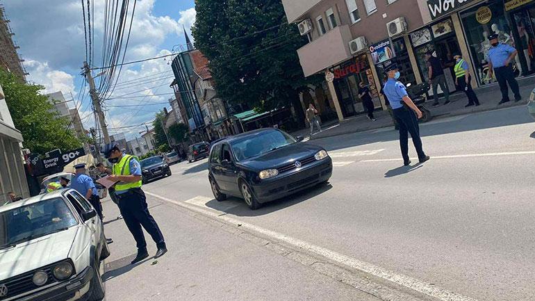 """Policia po e zbaton planin operativ """"Siguria në komunikacion"""", me qëllim të parandalimit të aksidenteve"""