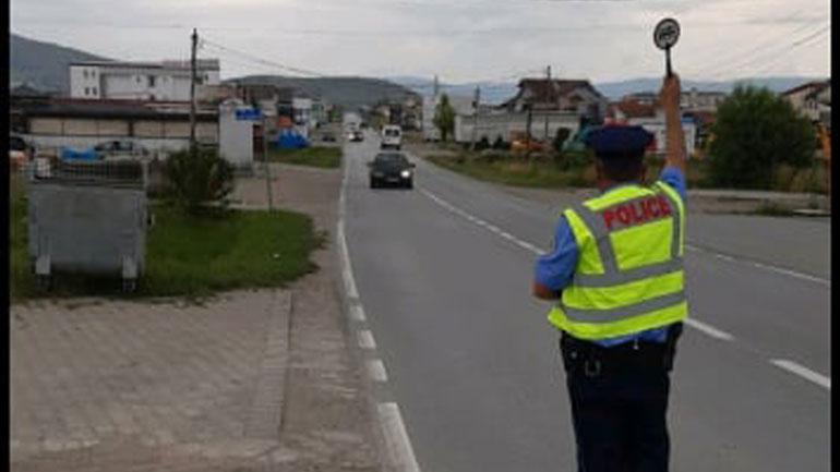 Gjilan: Policia po vazhdon me kontrolle në rrugët rajonale, përdorën edhe dronë
