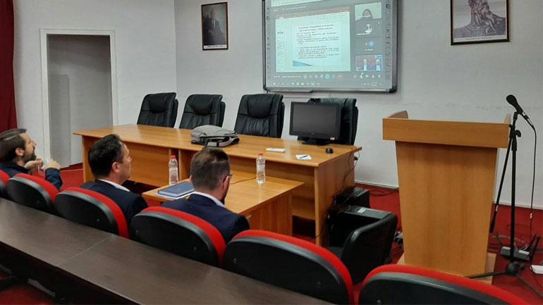 Studentët e Departamentit të gazetarisë në UP morën informacione për misionin e IPK-së