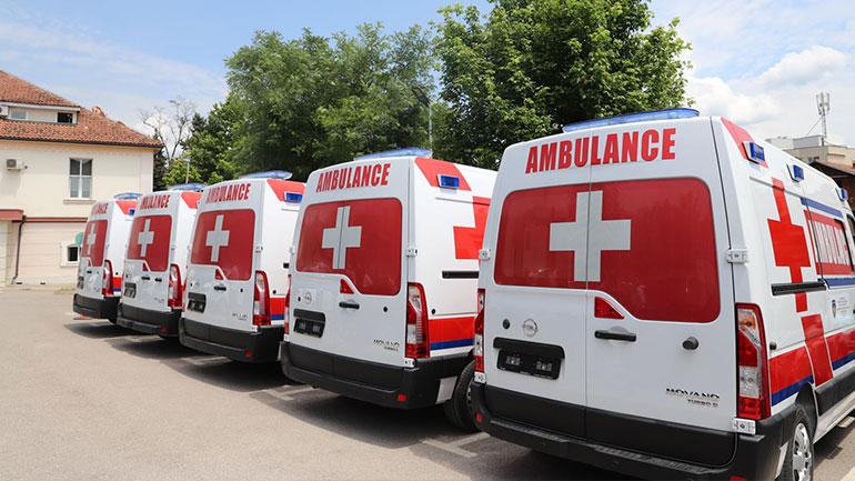 Ministria e Shëndetësisë ka pranuar pesë autoambulanca të reja